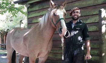 Our ferrier for horseback rides in southern Chile